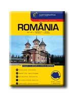 """ROMÁNIA AUTÓATLASZA - CART. - """"SC"""" -"""