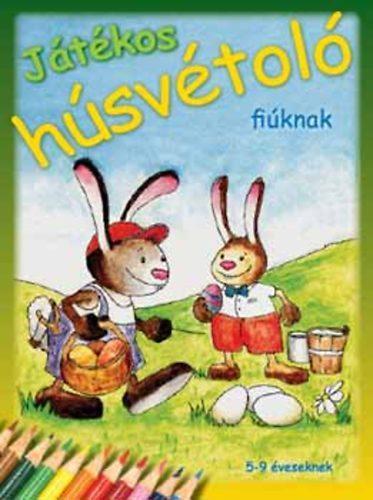 JÁTÉKOS HÚSVÉTOLÓ LÁNYOKNAK - 5-9 ÉVESEKNEK