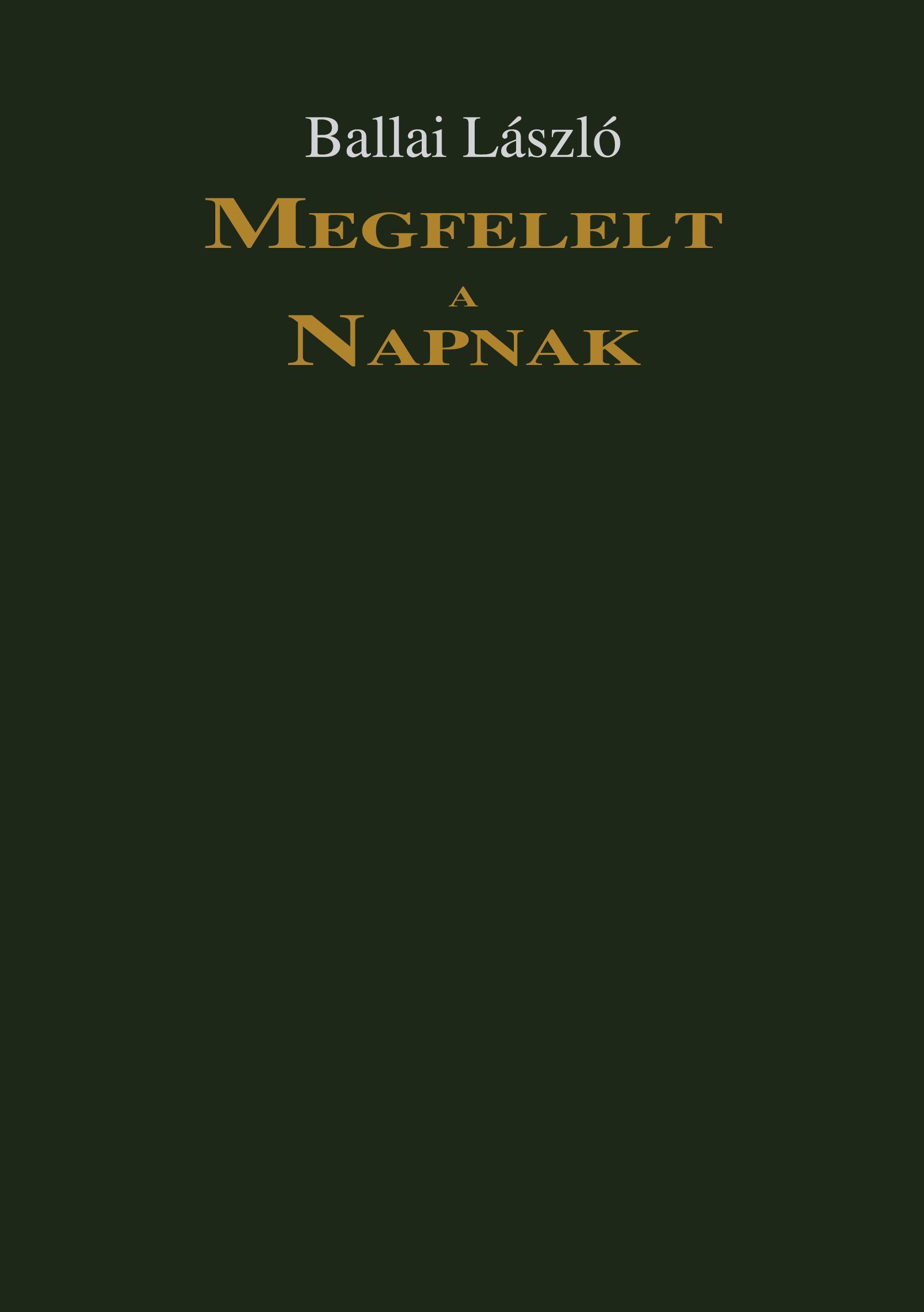 MEGFELELT A NAPNAK