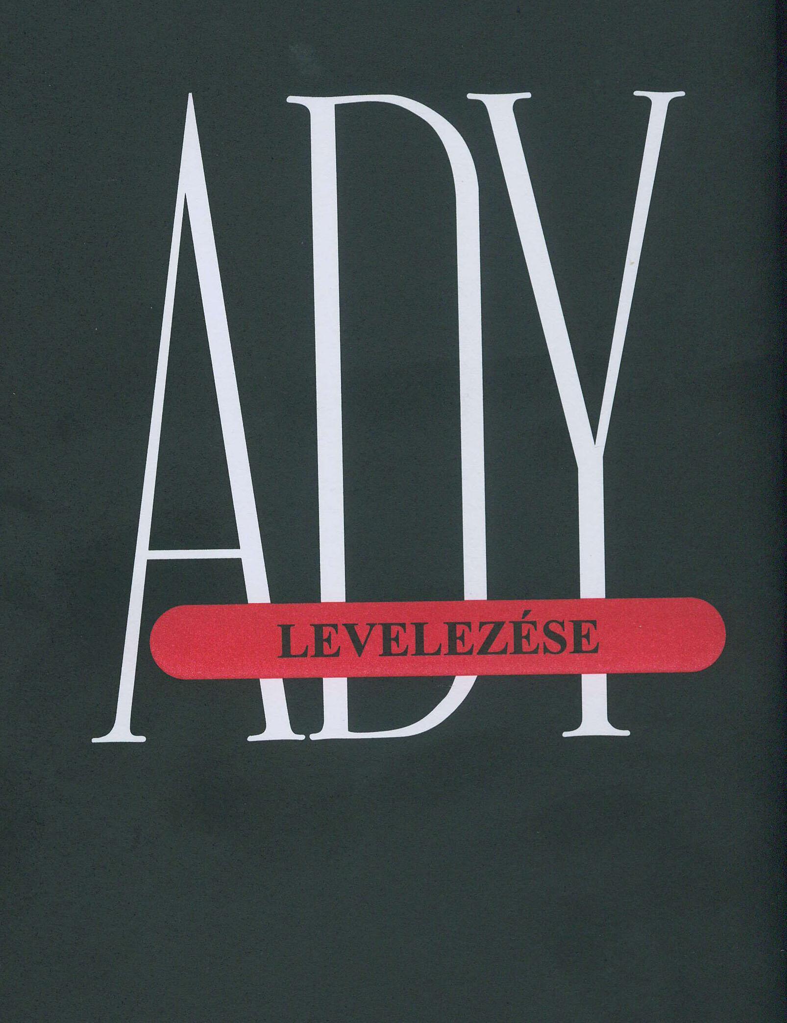ADY ENDRE LEVELEZÉSE III. 1910-1911
