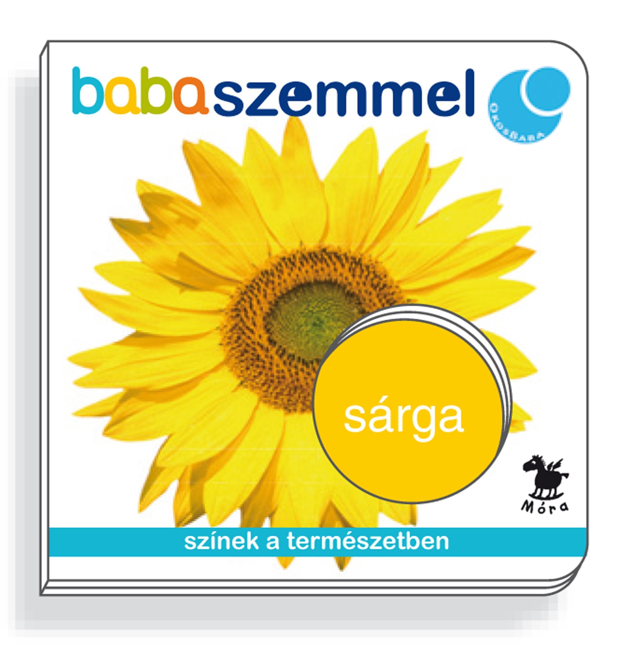SÁRGA - BABASZEMMEL - LAPOZÓ