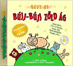 BEST OF BÚJJ-BÚJJ ZÖLDÁG - CD -