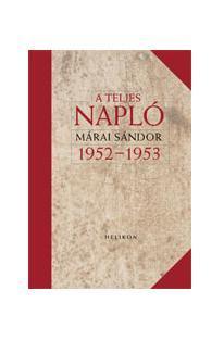 A TELJES NAPLÓ 1952-53