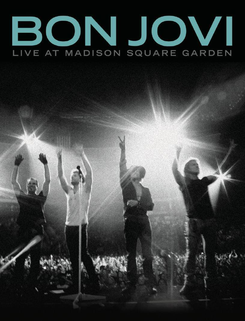 LIVE AT MADISON SQUARE GARDEN  - DVD -