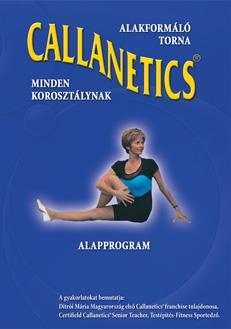 CALLANETICS - ALAPPROGRAM  - DVD -