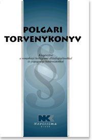 POLGÁRI TÖRVÉNYKÖNYV - 2010. JANUÁR 1.