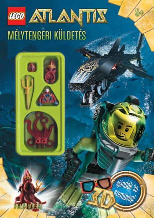 MÉLYTENGERI KÜLDETÉS - LEGO ATLANTIS