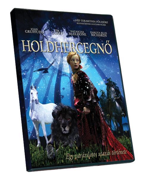 HOLDHERCEGNÕ - DÍSZDOBOZ - KÖNYV+DVD -
