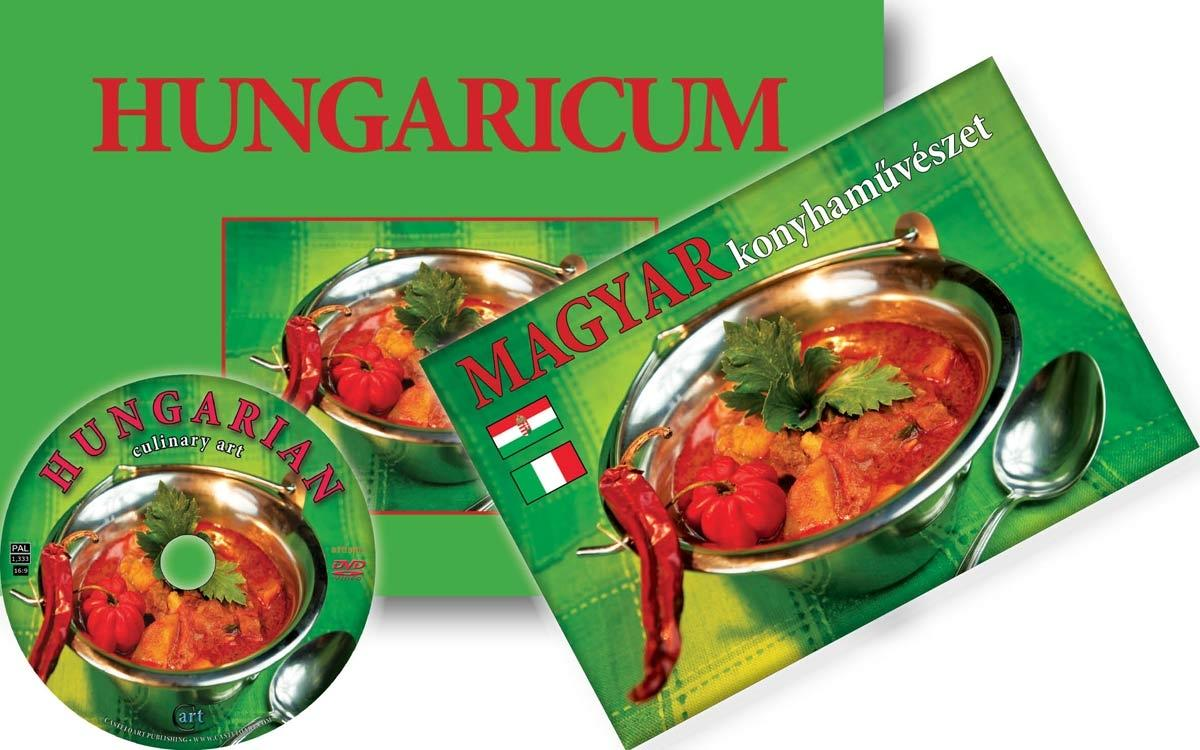 HUNGARICUM - KÖNYV+DVD MELLÉKLET- (MAGYAR-OLASZ)