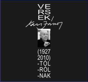 VERSEK KASS JÁNOS-TÓL, -RÓL, -NAK (1927-2010)