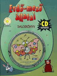 ERDŐ-MEZŐ ÁLLATAI - DALOSKÖNYV + CD + KIFESTŐ