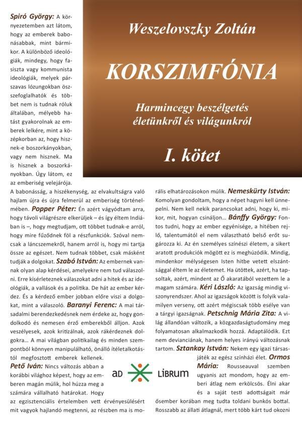 KORSZIMFÓNIA I-II.