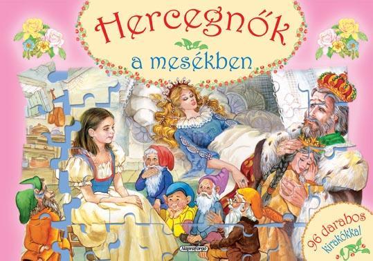 HERCEGNÕK A MESÉKBEN - 96 DARABOS KIRAKÓKKAL