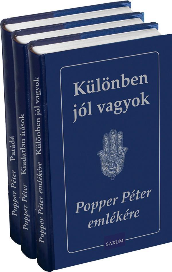 POPPER PÉTER EMLÉKÉRE I-III.