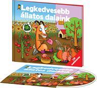 LEGKEDVESEBB ÁLLATOS DALAINK - KÖNYV + CD