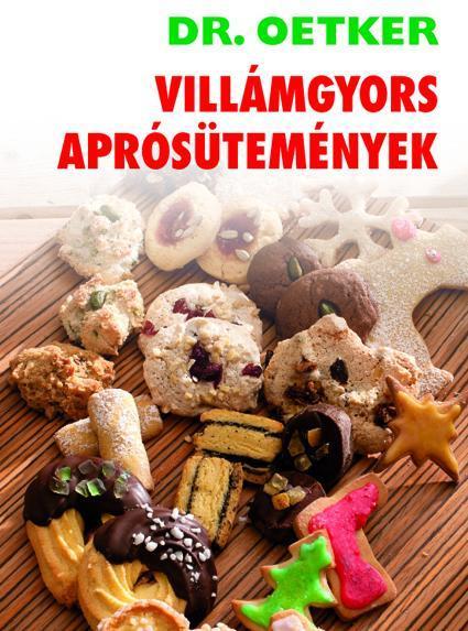 VILLÁMGYORS APRÓSÜTEMÉNYEK - DR.OETKER