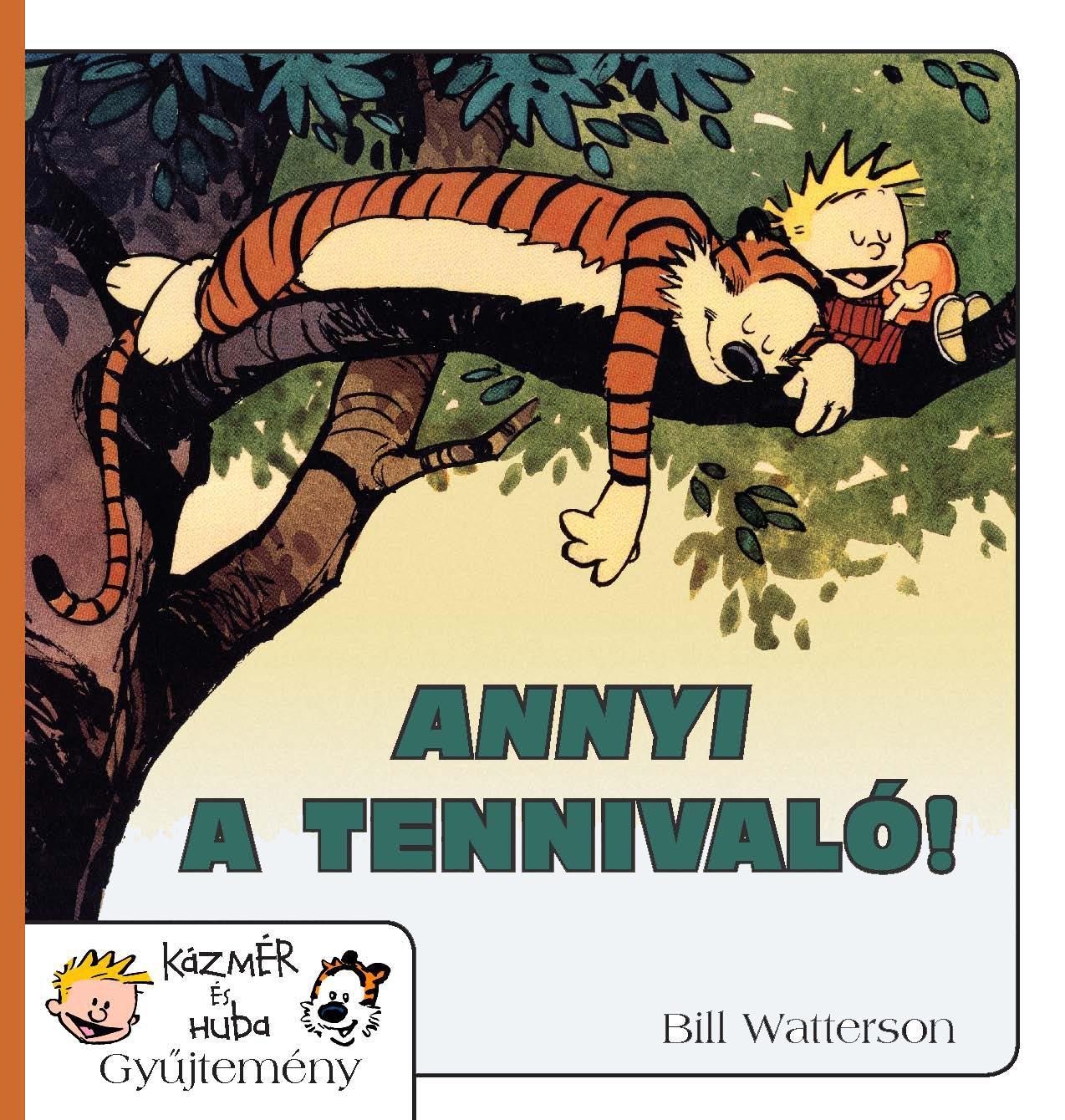ANNYI A TENNIVALÓ! - KÁZMÉR ÉS HUBA 8. KÉPREGÉNY
