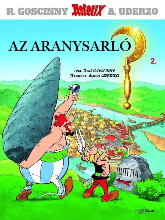 AZ ARANYSARLÓ - ASTERIX 2.