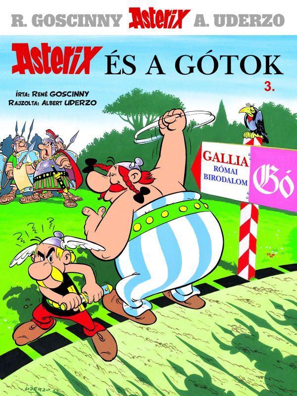 ASTERIX ÉS A GÓTOK - ASTERIX 3.