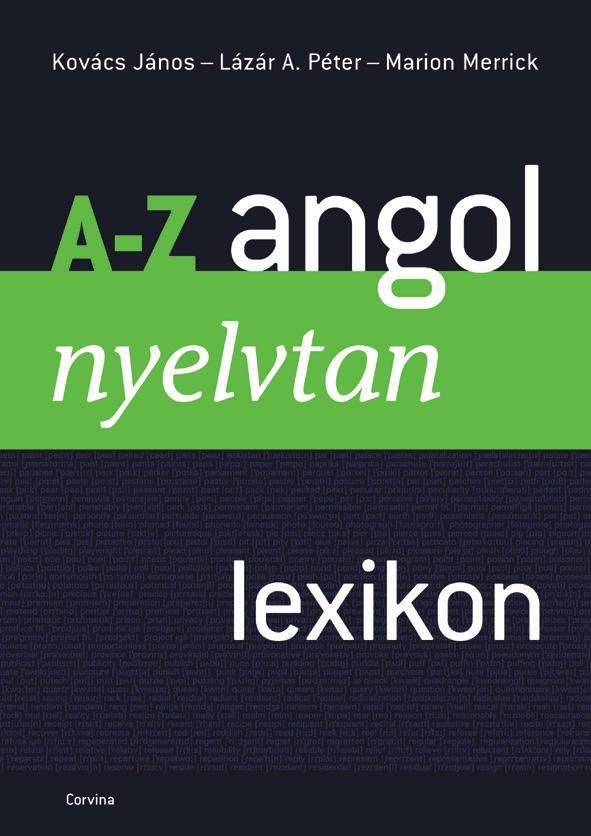 A-Z ANGOL NYELVTAN LEXIKON (ÚJ, ÁTDOLG. KIAD.) -