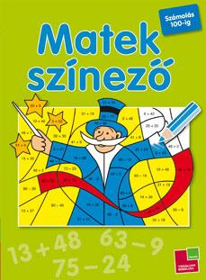 MATEKSZÍNEZÕ - SZÁMOLÁS 100-IG