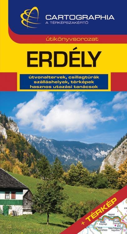 ERDÉLY - CART. ÚTIKÖNYV TÉRKÉPPEL