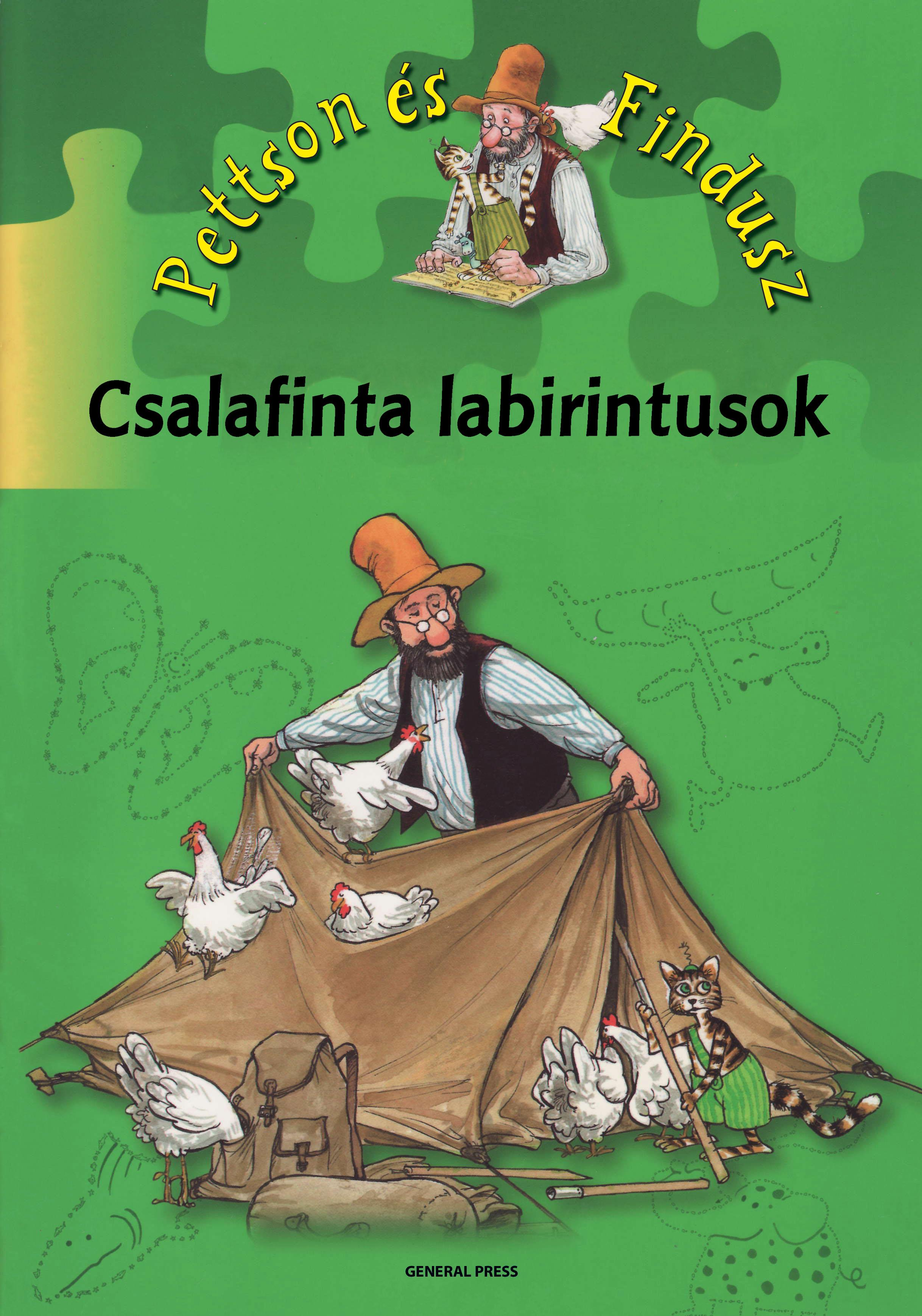 CSALAFINTA LABIRINTUSOK - ÖTÉVES KORTÓL -