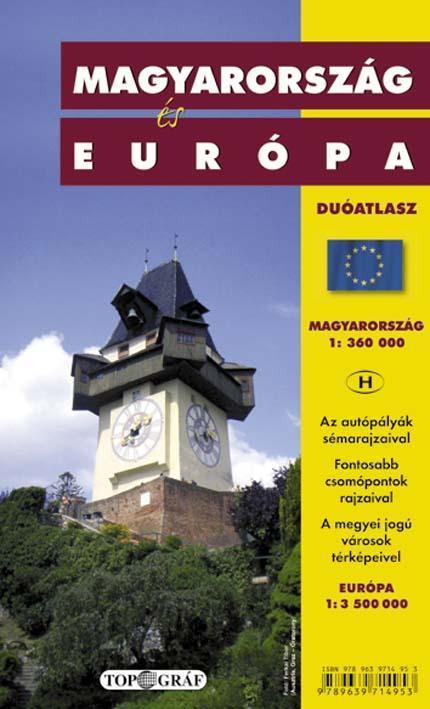 MAGYARORSZÁG ÉS EURÓPA DUÓATLASZ