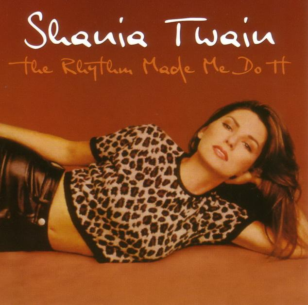 - THE  RHYTHM MADE ME DO IT - SHANIA TWAIN - CD -