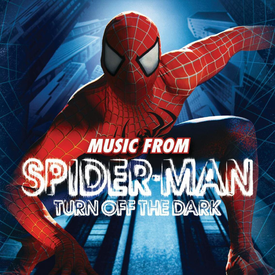 TURN OFF THE DARK - MUSIC FROM SPIDER MAN - CD -