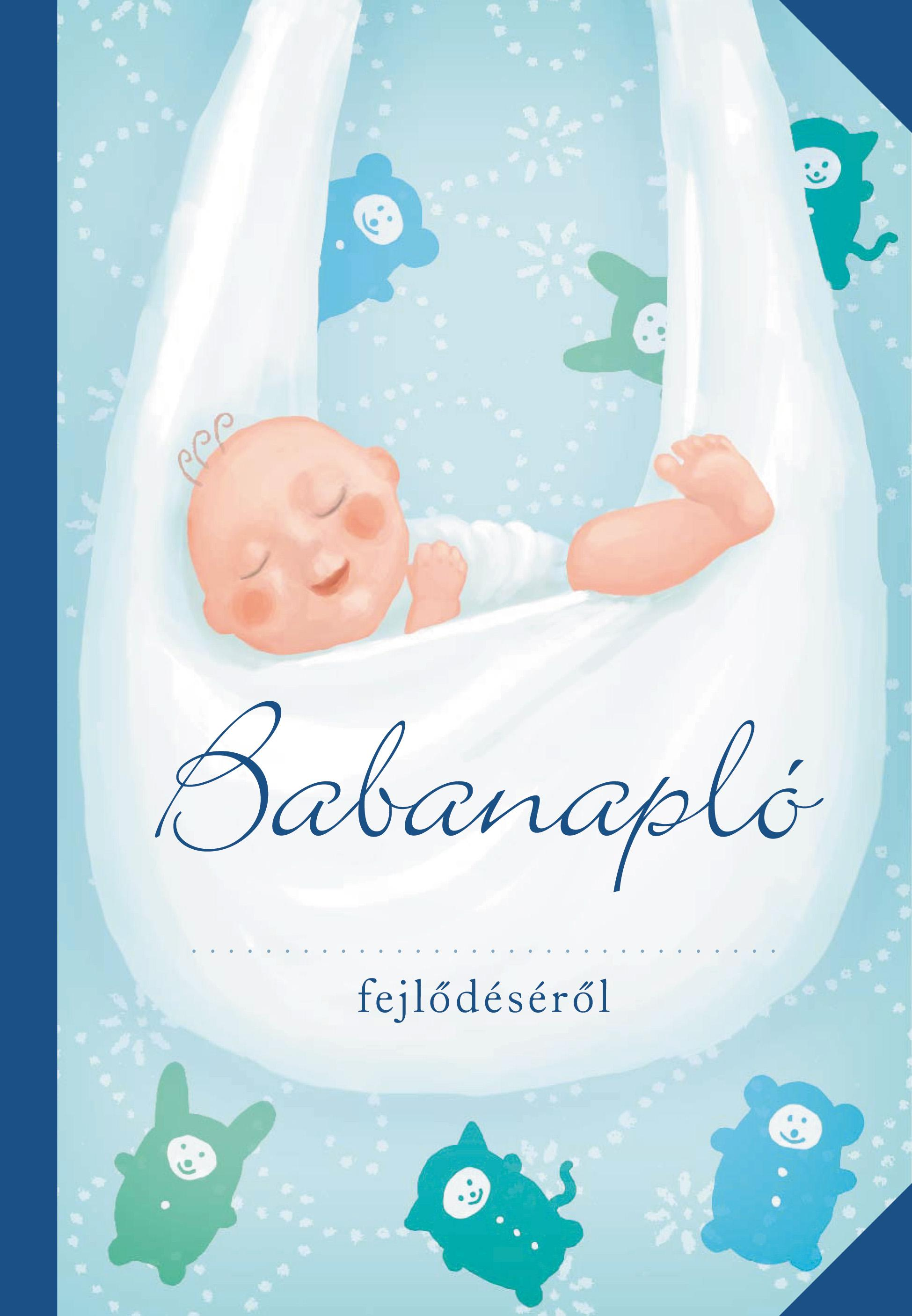 BABANAPLÓ - (FIÚ, KÉK)