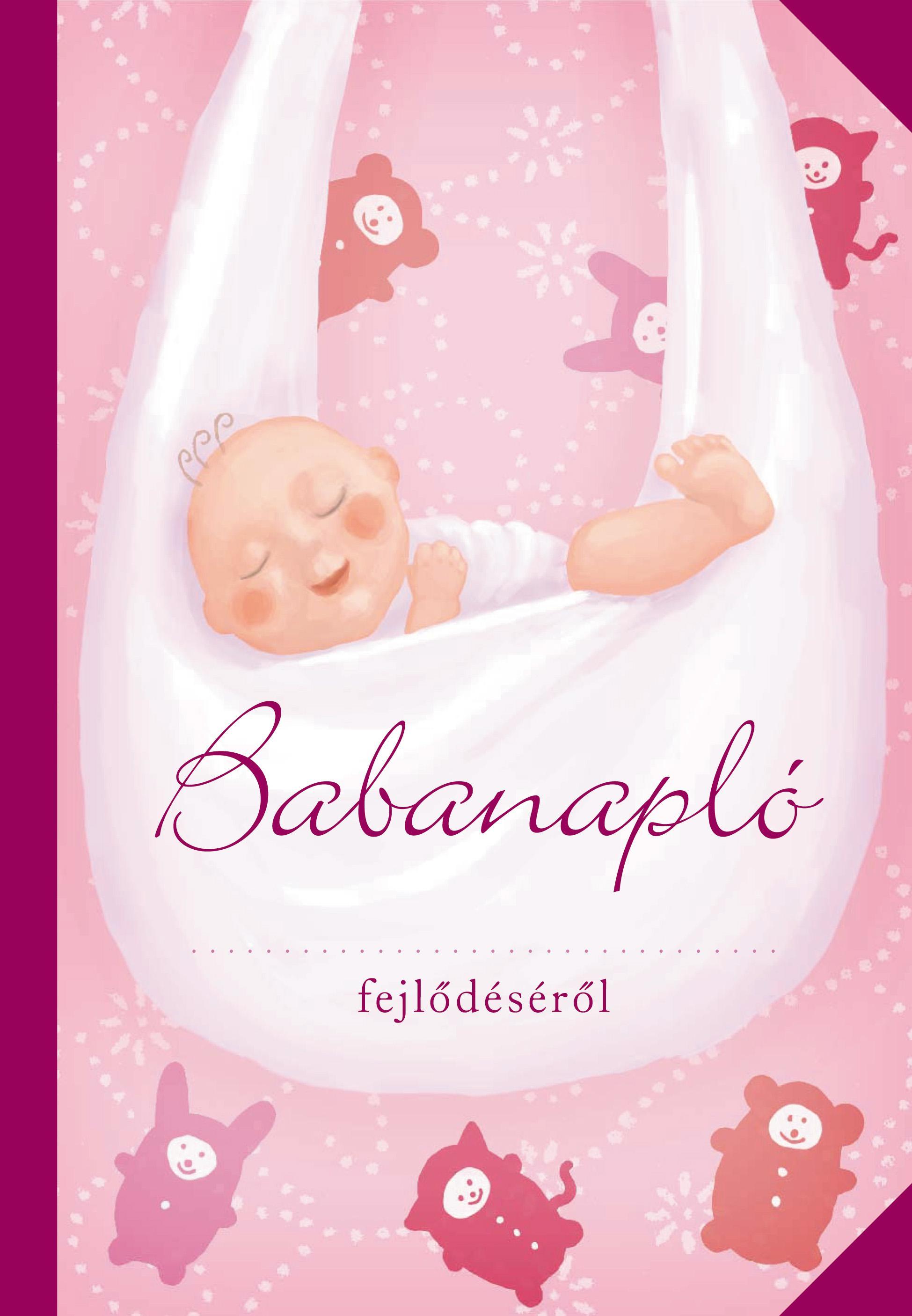BABANAPLÓ - (LÁNY, RÓZSASZÍN)