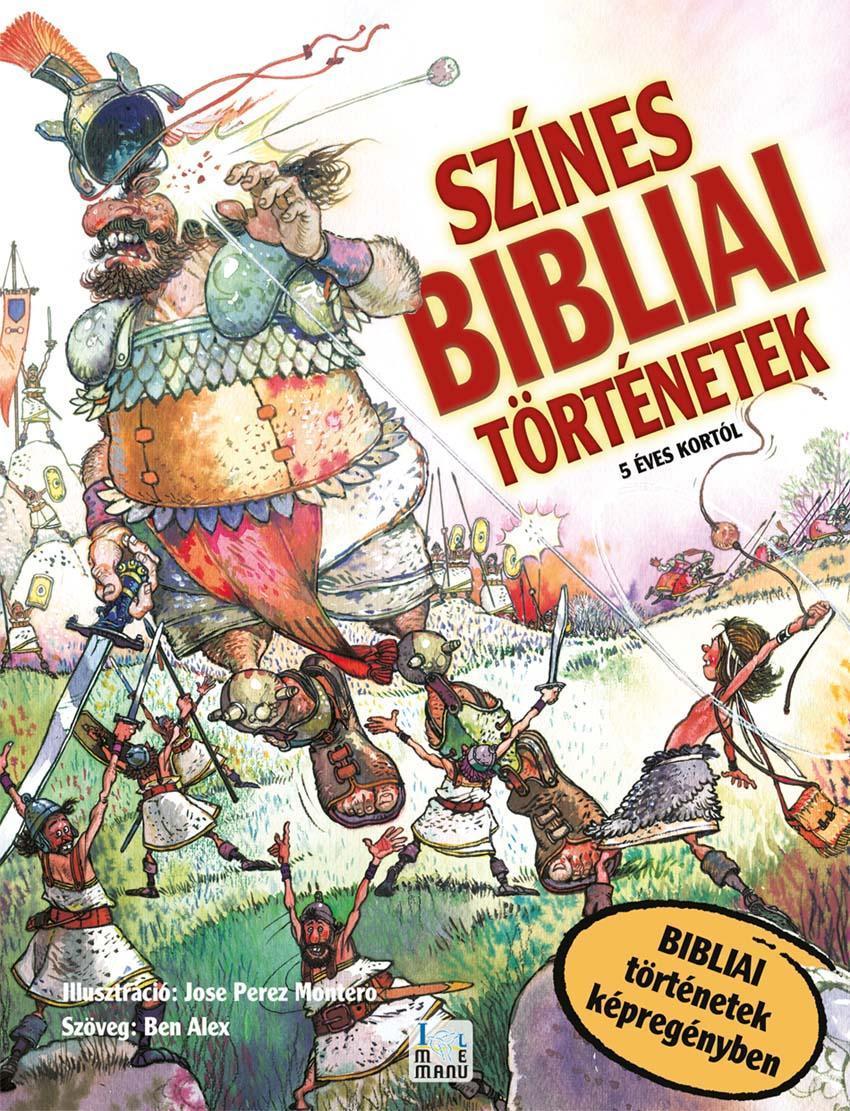 SZÍNES BIBLIAI TÖRTÉNETEK - 5 ÉVES KORTÓL (KÉPREGÉNY)