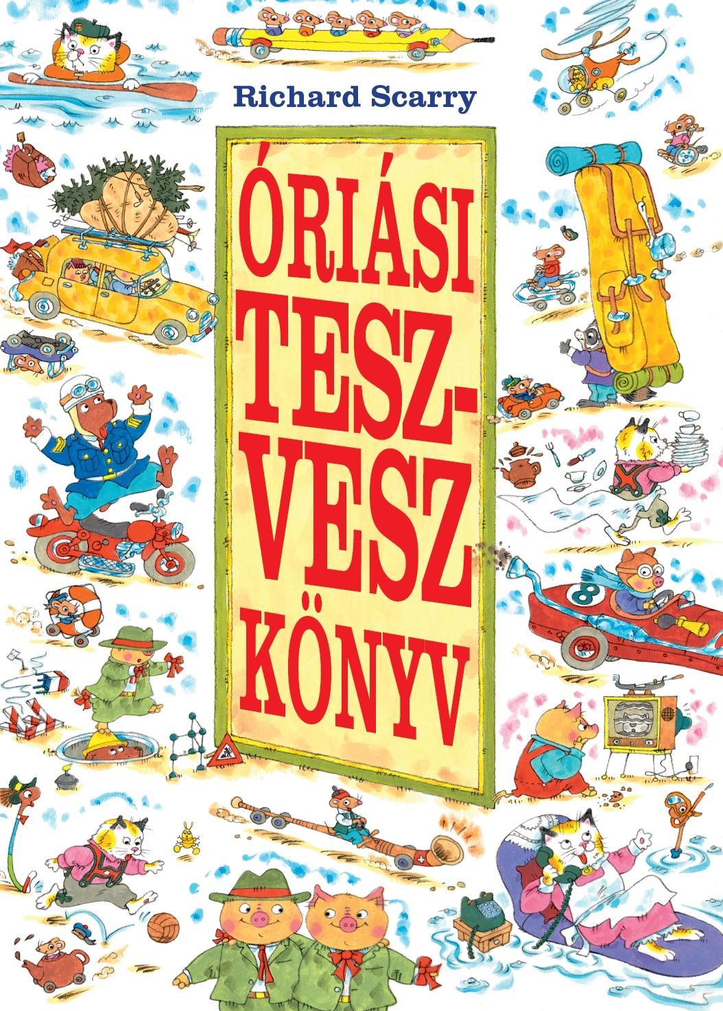 ÓRIÁSI TESZ-VESZ KÖNYV -