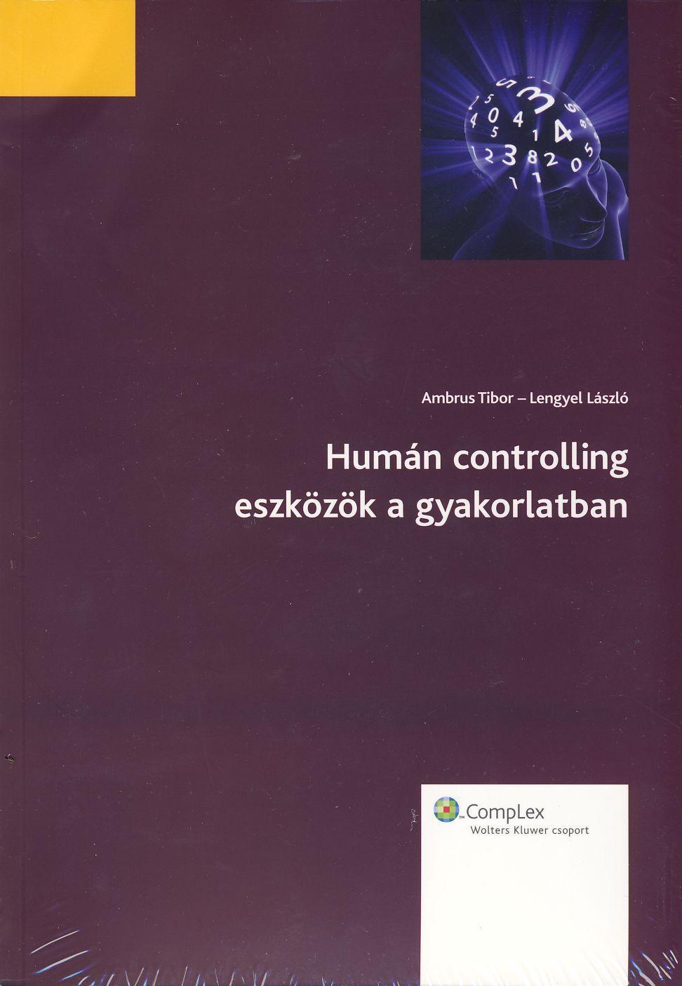 HUMÁN CONTROLLING ESZKÖZÖK A GYAKORLATBAN - CD MELLÉKLETTEL