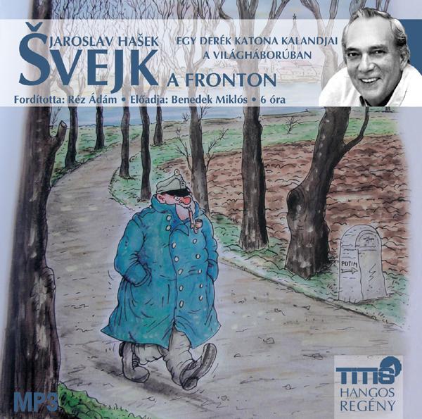 SVEJK A FRONTON - HANGOSKÖNYV