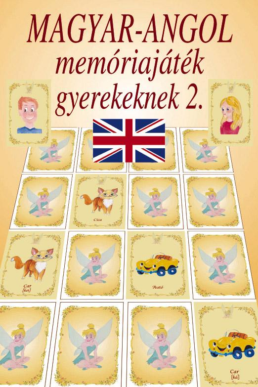 MAGYAR-ANGOL MEMÓRIAJÁTÉK GYEREKEKNEK 2. - KIEJTÉSSEL