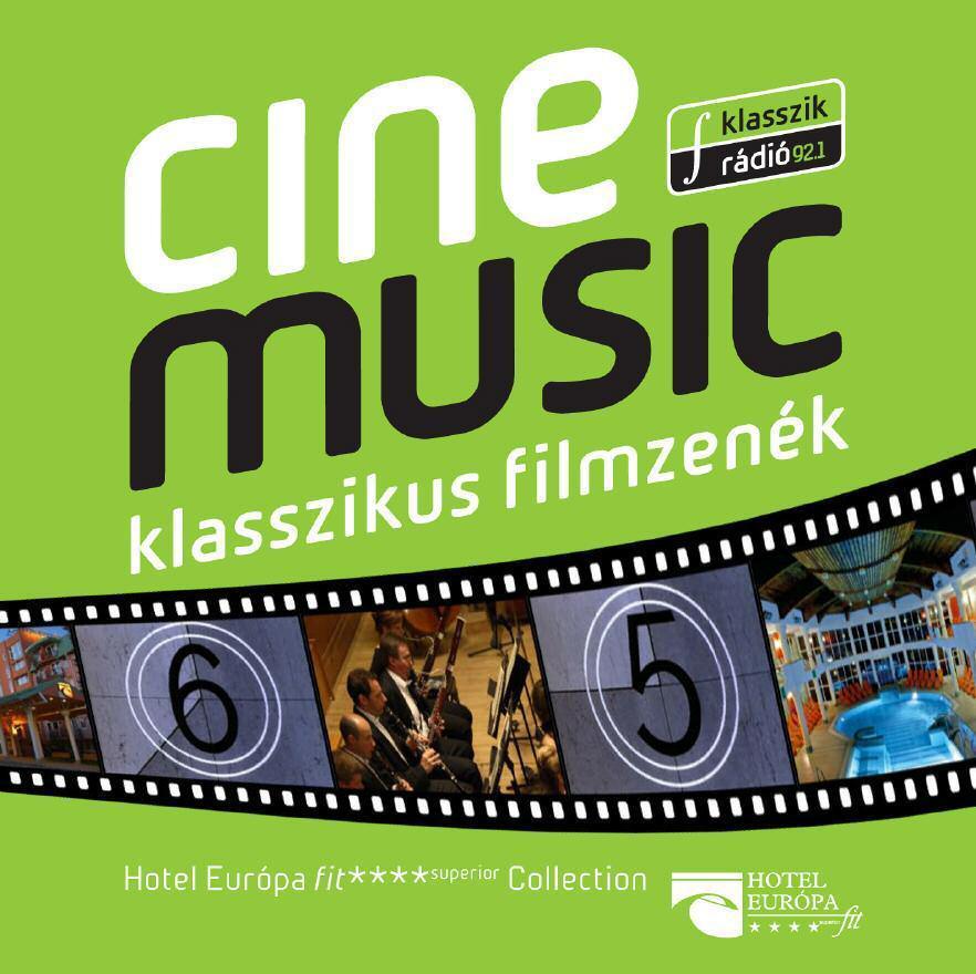 - CINEMUSIC - KLASSZIKUS FILMZENÉK - CD -