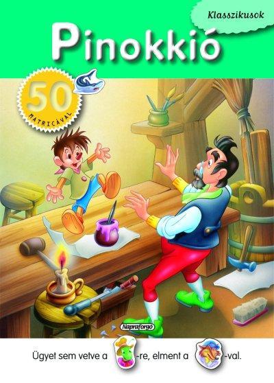 PINOKKIÓ - KLASSZIKUSOK 50 MATRICÁVAL