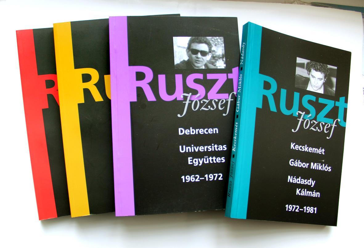 RUSZT JÓZSEF - KECSKEMÉT - GÁBOR MIKLÓS, NÁDASDY KÁLMÁN 1972-1981