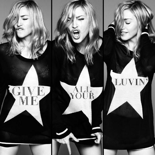 GIVE ME ALL YOUR LUVIN' (MAXI) - MADONNA - CD -