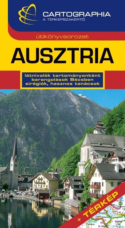 AUSZTRIA - CARTOGRAPHIA ÚTIKÖNYV (ÚJ!)