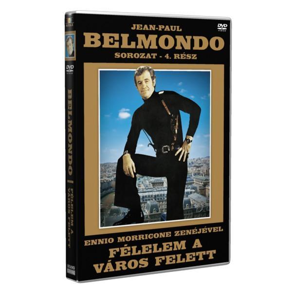 - FÉLELEM A VÁROS FELETT - JEAN-PAUL BELMONDO SOR. 4. - DVD -
