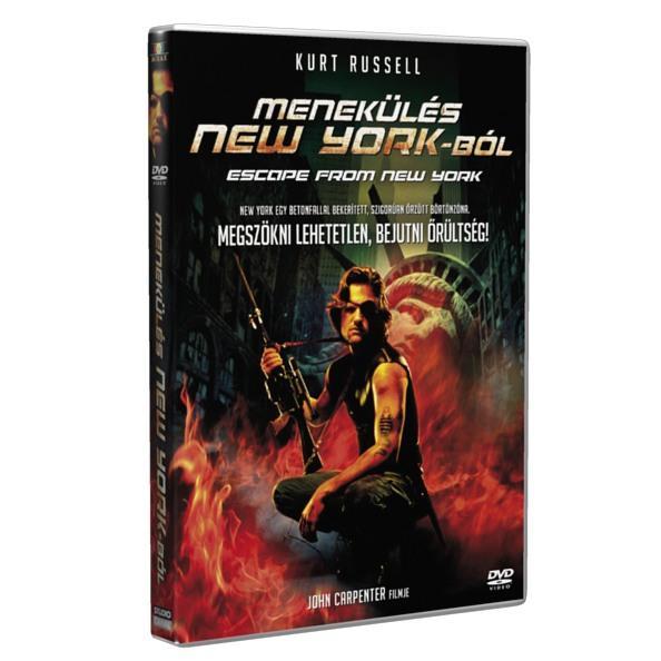 - - MENEKÜLÉS NEW YORKBÓL - DVD -