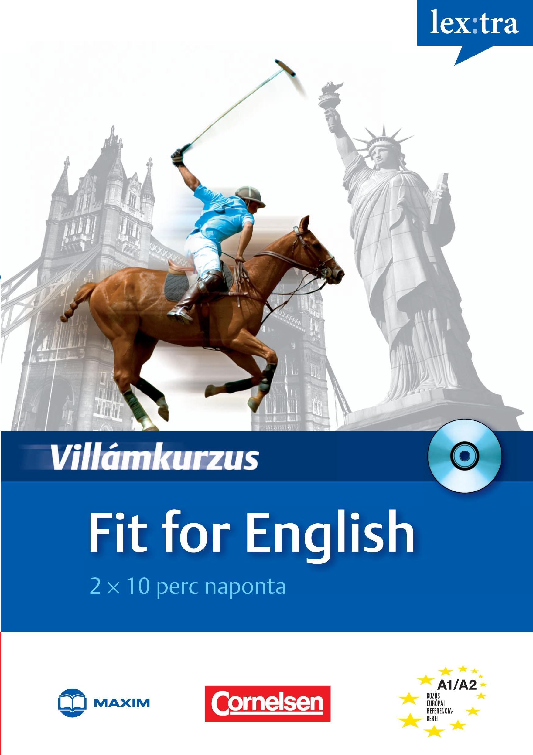 FIT FOR ENGLISH - VILLÁMKURZUS - CD-VEL!