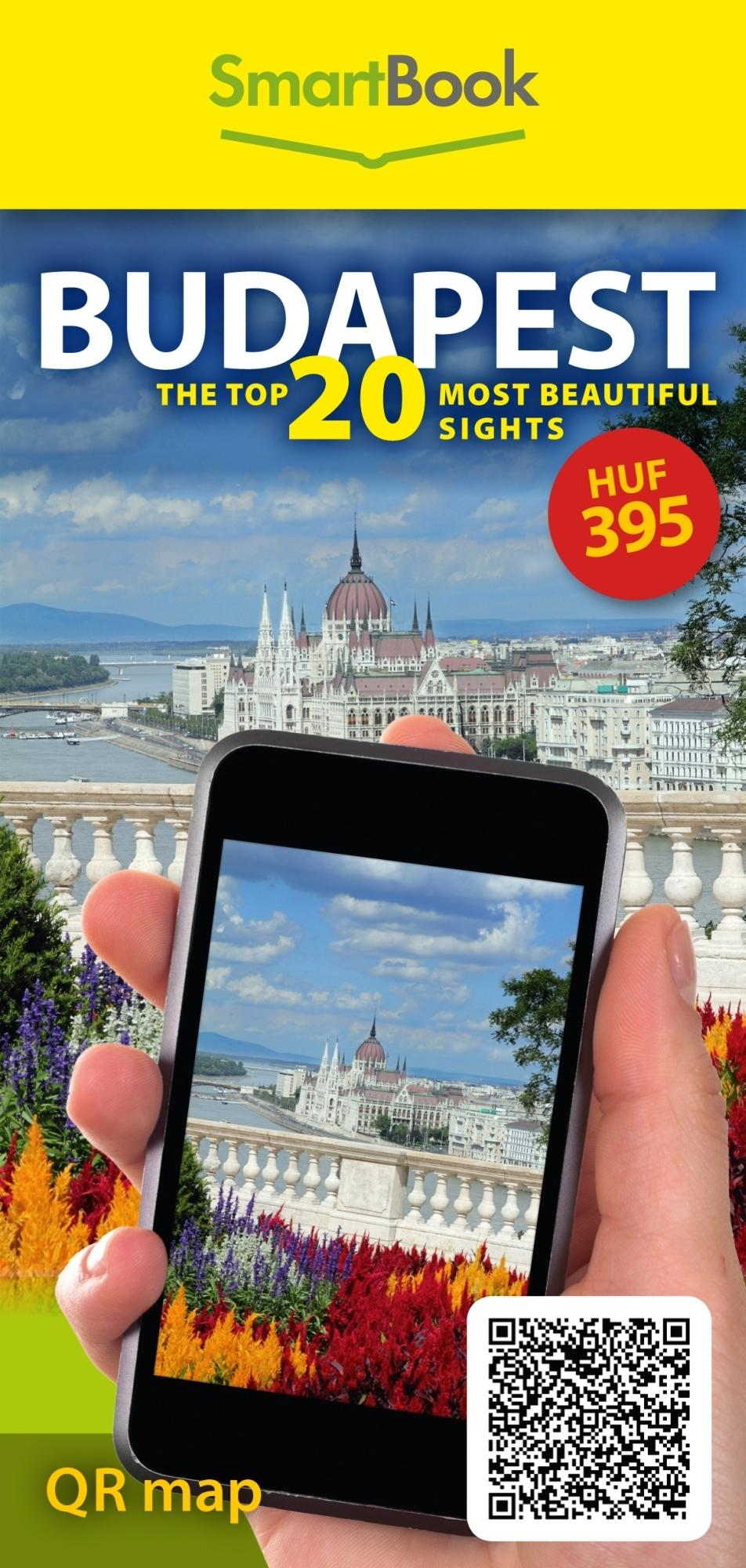 BUDAPEST - THE TOP 20 MOST BEAUTIFUL SIGHTS - SMARTBOOK QR MAP