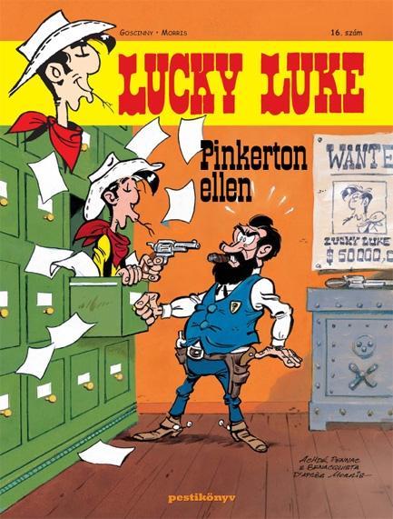 LUCKY LUKE 16. - LUCKY LUKE PINKERTON ELLEN