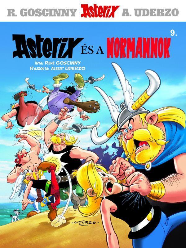 ASTERIX ÉS A NORMANNOK - ASTERIX 9.