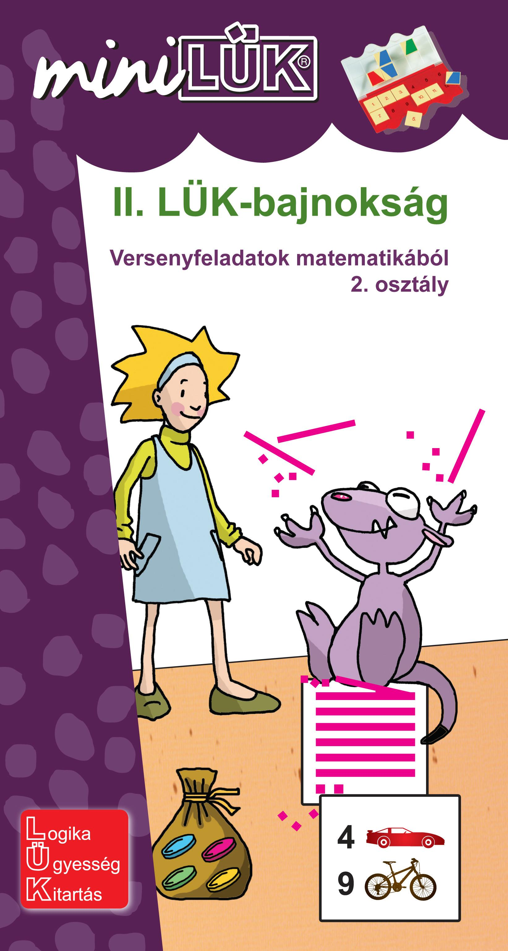 II. LÜK-BAJNOKSÁG - VERSENYFELADATOK MATEMATIKÁBÓL 2. OSZT.