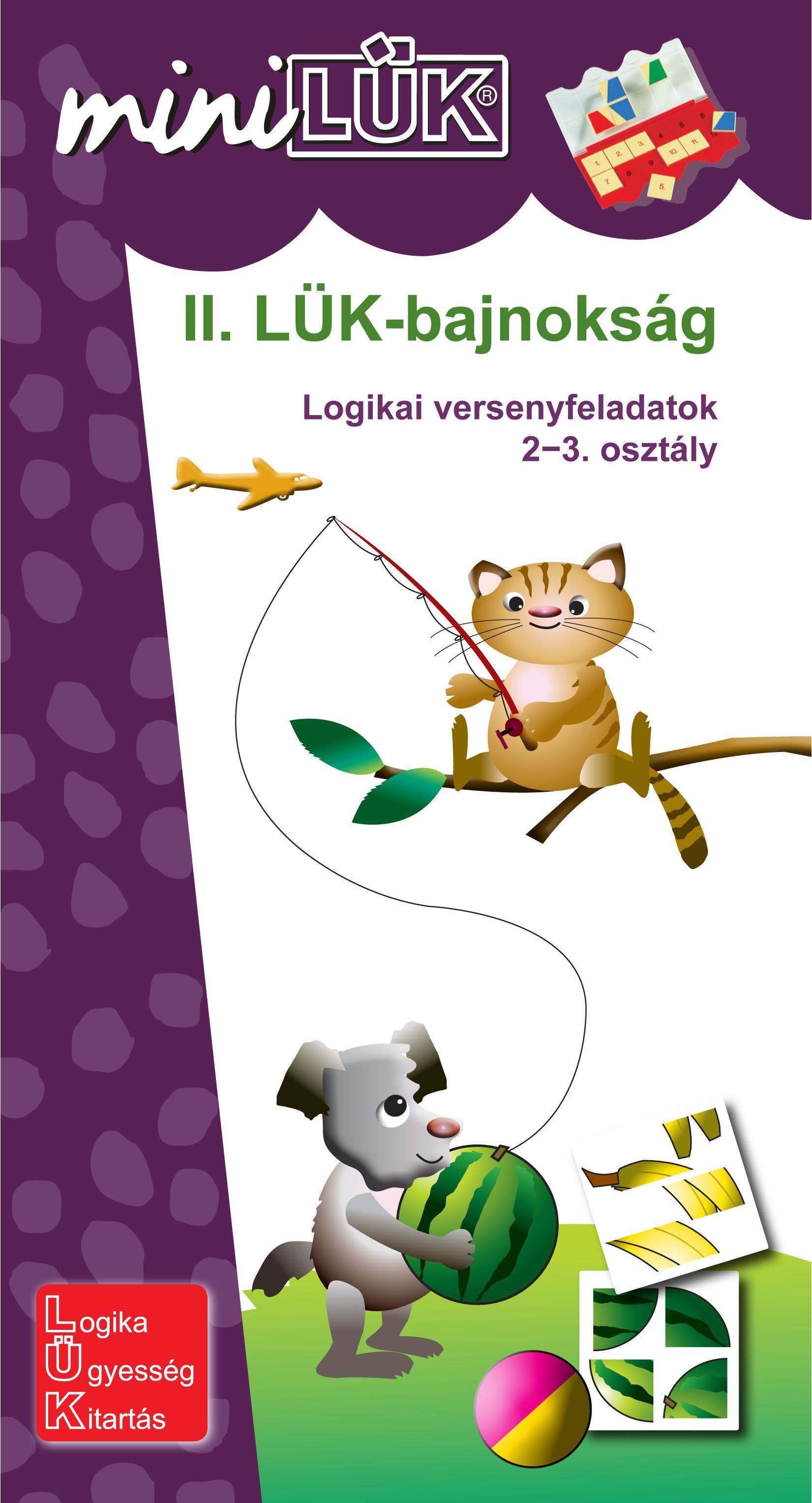 II. LÜK-BAJNOKSÁG - LOGIKAI VERSENYFELADATOK 2-3. OSZT.